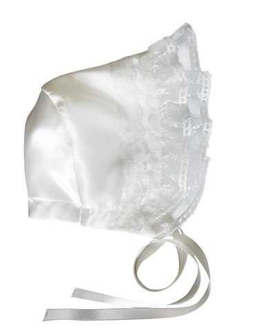 Dopklänning med vitt dopbroderi
