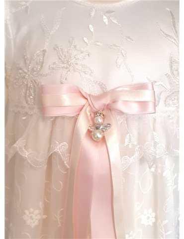 vit Dopklänning med söta dopskor