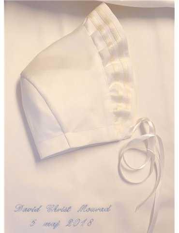 Vit Dopklänning med lyxig doposett