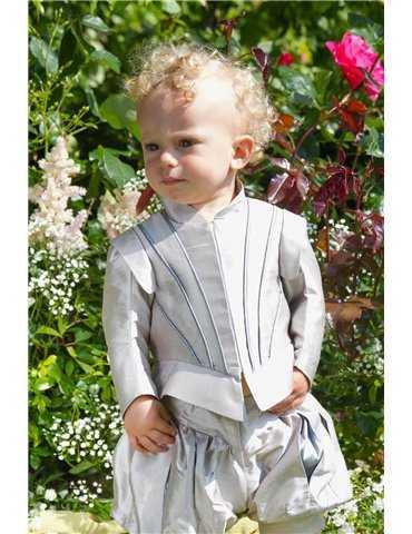 Dopklänning på baby flicka