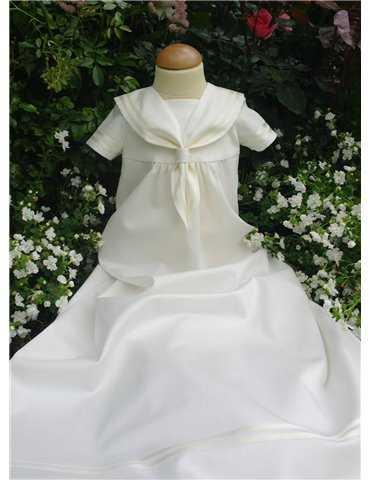 Vacker unisex Dopklänning