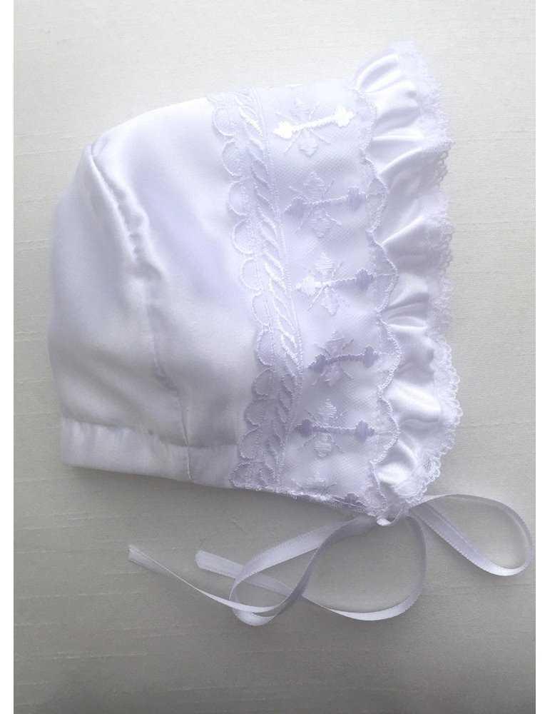Dopklänning med söt babykille