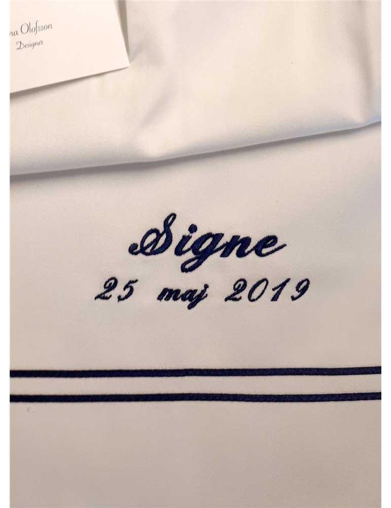 Dopklänning med vacker längd