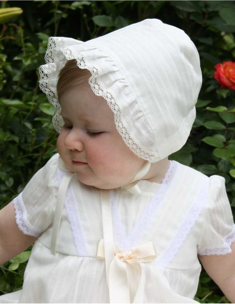 Dopklänning i sekelskiftsstil till flicka