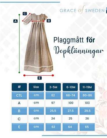 Sjömanskostym till baby pojke