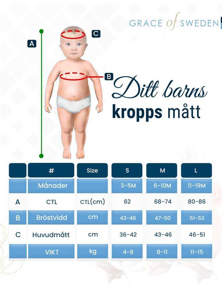 vita dopkläder i fullbild