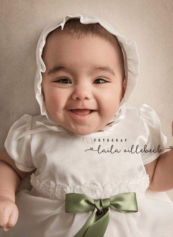 Fin kjole med tyllebånd
